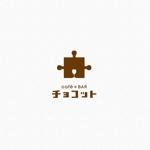 l_golemさんのcafé×BAR「チョコット」のロゴへの提案