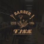yo----heさんの理容室のロゴ  「Barber タンポポ」への提案