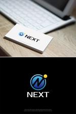 hi06さんの株式会社NEXTのロゴデザインの依頼への提案