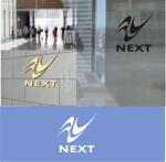 shyoさんの株式会社NEXTのロゴデザインの依頼への提案