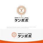 drkigawaさんの理容室のロゴ  「Barber タンポポ」への提案