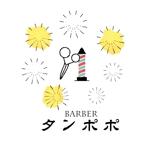 sakurayamaguchiさんの理容室のロゴ  「Barber タンポポ」への提案