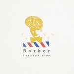 NINA-DESIGNさんの理容室のロゴ  「Barber タンポポ」への提案