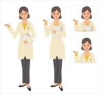 【シニア向け情報サイト】女性研究員のキャラクターへの提案