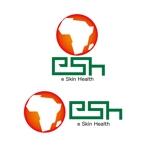 kan54fishさんの海外協力で使用する皮膚科遠隔診療システムのロゴへの提案