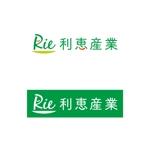 eri_ugworksさんの惣菜・スイーツ製造会社「利恵産業」のロゴ作成への提案