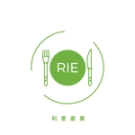 guesswhoo29さんの惣菜・スイーツ製造会社「利恵産業」のロゴ作成への提案