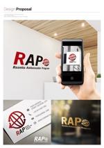 arawaguskさんの既存顧客向けコミュニティ組織「RAP」のロゴ への提案