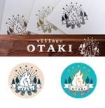takami86さんの北海道の大自然でのキャンプ場のロゴへの提案