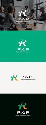 tanaka10さんの既存顧客向けコミュニティ組織「RAP」のロゴ への提案