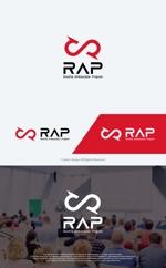 take5-designさんの既存顧客向けコミュニティ組織「RAP」のロゴ への提案