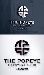 takekazu1121さんのプライベートジム「THE POPEYE Personal Club by BLAZE FIT.」ロゴへの提案