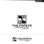 fs8156さんのプライベートジム「THE POPEYE Personal Club by BLAZE FIT.」ロゴへの提案