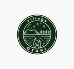 Grander02さんの北海道の大自然でのキャンプ場のロゴへの提案
