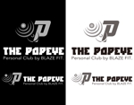 coresoulさんのプライベートジム「THE POPEYE Personal Club by BLAZE FIT.」ロゴへの提案