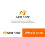 hope2017さんの教育サービスを提供する会社「ネクストドア」のロゴ制作への提案