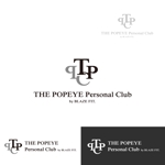syotagotoさんのプライベートジム「THE POPEYE Personal Club by BLAZE FIT.」ロゴへの提案