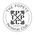 a2c0303さんのプライベートジム「THE POPEYE Personal Club by BLAZE FIT.」ロゴへの提案