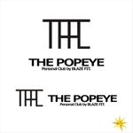 shyoさんのプライベートジム「THE POPEYE Personal Club by BLAZE FIT.」ロゴへの提案