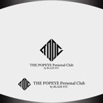 Nakamura__さんのプライベートジム「THE POPEYE Personal Club by BLAZE FIT.」ロゴへの提案