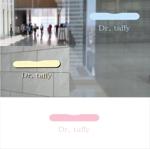 shyoさんの接骨院が開発した腰痛解消マットレス「Dr. taffy(ドクタータフィ)」のロゴ制作への提案