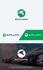 take5-designさんの格安レンタカー「株式会社ガッツ・ジャパン」のロゴデザインへの提案