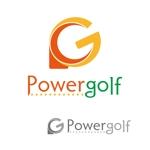 d_i_dさんのゴルフ用品販売サイト(実店舗含む)『パワーゴルフ』のロゴへの提案