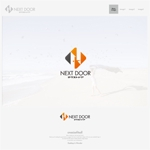 onesizefitsallさんの教育サービスを提供する会社「ネクストドア」のロゴ制作への提案