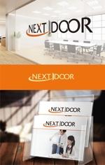 Doing1248さんの教育サービスを提供する会社「ネクストドア」のロゴ制作への提案