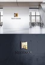 skliberoさんの教育サービスを提供する会社「ネクストドア」のロゴ制作への提案