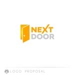 kamemzさんの教育サービスを提供する会社「ネクストドア」のロゴ制作への提案