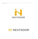 april48さんの教育サービスを提供する会社「ネクストドア」のロゴ制作への提案
