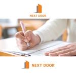 queuecatさんの教育サービスを提供する会社「ネクストドア」のロゴ制作への提案