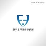 kmizumotoさんの藤宗本澤法律事務所のロゴ作成への提案