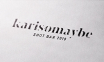 tokyodesignさんのショットバー「karisomaybe」ロゴへの提案