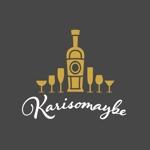 utsutsuさんのショットバー「karisomaybe」ロゴへの提案