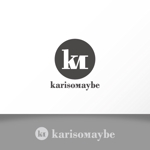katachidesignさんのショットバー「karisomaybe」ロゴへの提案