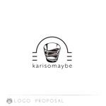 kamemzさんのショットバー「karisomaybe」ロゴへの提案