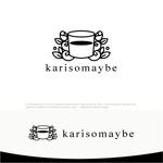 drkigawaさんのショットバー「karisomaybe」ロゴへの提案
