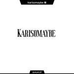 queuecatさんのショットバー「karisomaybe」ロゴへの提案