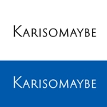 nanana_13さんのショットバー「karisomaybe」ロゴへの提案