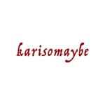 maamademusicさんのショットバー「karisomaybe」ロゴへの提案