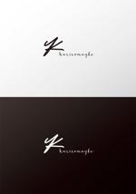 pekoodoさんのショットバー「karisomaybe」ロゴへの提案