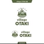 queuecatさんの北海道の大自然でのキャンプ場のロゴへの提案
