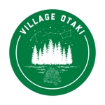 asobigocoro_designさんの北海道の大自然でのキャンプ場のロゴへの提案