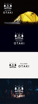 tanaka10さんの北海道の大自然でのキャンプ場のロゴへの提案