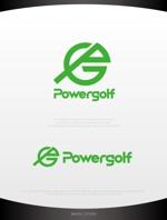 mahou-photさんのゴルフ用品販売サイト(実店舗含む)『パワーゴルフ』のロゴへの提案