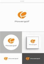 DeeDeeGraphicsさんのゴルフ用品販売サイト(実店舗含む)『パワーゴルフ』のロゴへの提案