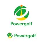t8o3b1iさんのゴルフ用品販売サイト(実店舗含む)『パワーゴルフ』のロゴへの提案