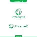 queuecatさんのゴルフ用品販売サイト(実店舗含む)『パワーゴルフ』のロゴへの提案